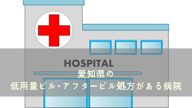 愛知県内でピル処方のある病院一覧