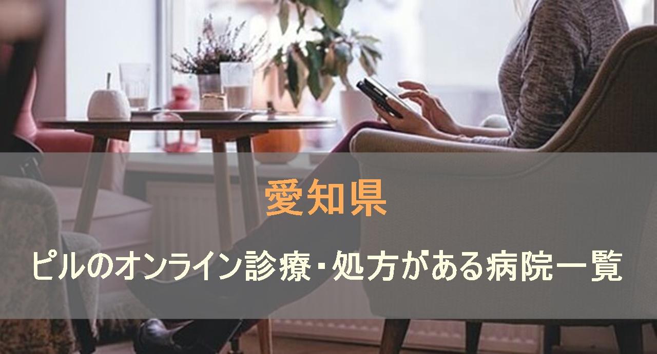 低用量ピルやアフターピルのオンライン診療・処方がある病院一覧を愛知県内で検索します