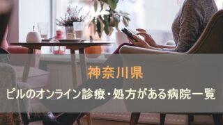 低用量ピルやアフターピルのオンライン診療・処方があるおすすめの病院を神奈川県内で検索します